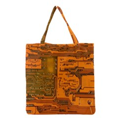 Circuit Grocery Tote Bag by Nexatart