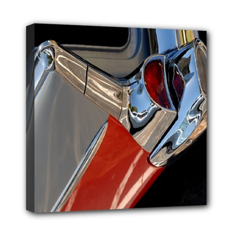 Classic Car Design Vintage Restored Mini Canvas 8  X 8  by Nexatart