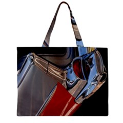 Classic Car Design Vintage Restored Medium Tote Bag by Nexatart