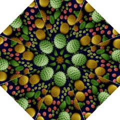 Colorized Pollen Macro View Golf Umbrellas by Nexatart