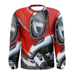 Classic Car Red Automobiles Men s Long Sleeve Tee