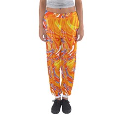 Crazy Patterns In Yellow Women s Jogger Sweatpants by Nexatart