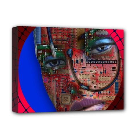 Display Dummy Binary Board Digital Deluxe Canvas 16  X 12