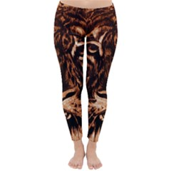 Eye Of The Tiger Classic Winter Leggings