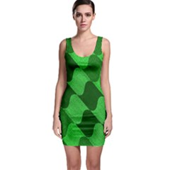 Fabric Textile Texture Surface Sleeveless Bodycon Dress