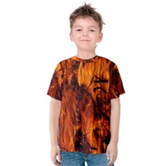 Fire Easter Easter Fire Flame Kids  Cotton Tee
