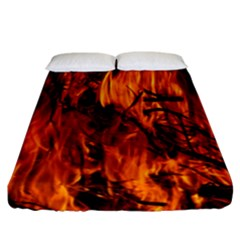 Fire Easter Easter Fire Flame Fitted Sheet (california King Size)