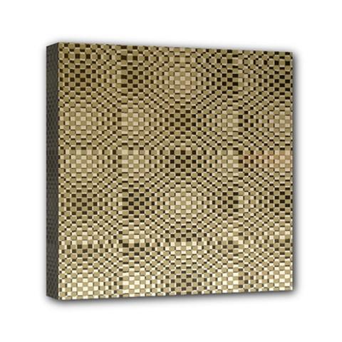 Fashion Style Glass Pattern Mini Canvas 6  X 6
