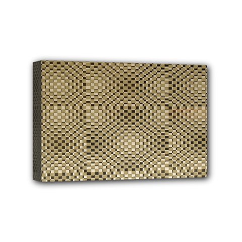 Fashion Style Glass Pattern Mini Canvas 6  X 4