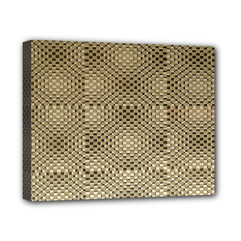 Fashion Style Glass Pattern Canvas 10  X 8