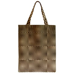 Fashion Style Glass Pattern Zipper Classic Tote Bag