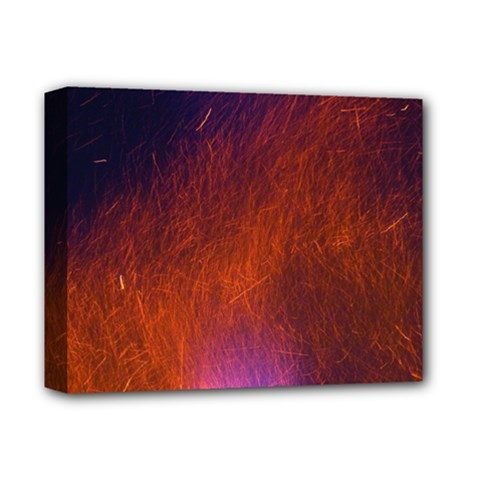 Fire Radio Spark Fire Geiss Deluxe Canvas 14  X 11