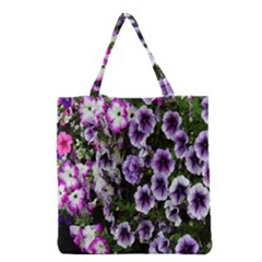 Flowers Blossom Bloom Plant Nature Grocery Tote Bag by Nexatart
