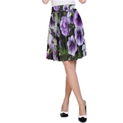 Flowers Blossom Bloom Plant Nature A Line Skirt by Nexatart