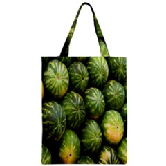 Food Summer Pattern Green Watermelon Classic Tote Bag by Nexatart