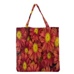 Flowers Nature Plants Autumn Affix Grocery Tote Bag by Nexatart