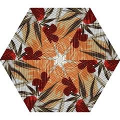 Fall Colors Mini Folding Umbrellas