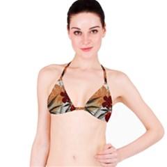 Fall Colors Bikini Top