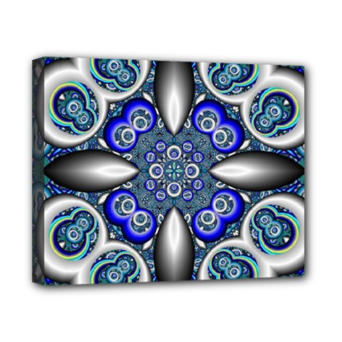 Fractal Cathedral Pattern Mosaic Canvas 10  X 8  by Nexatart