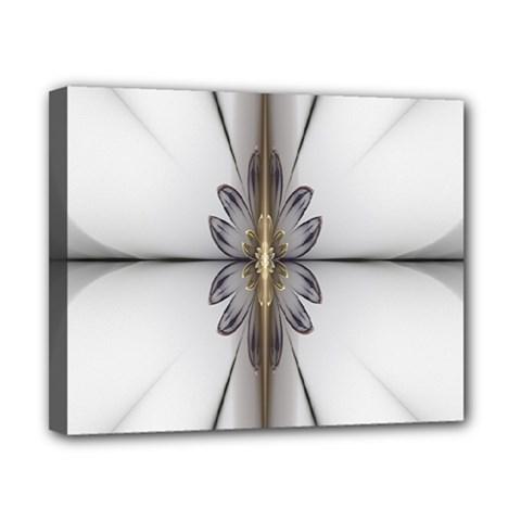 Fractal Fleur Elegance Flower Canvas 10  X 8