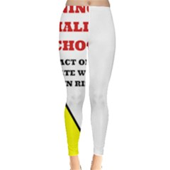 Warning Leggings  by athenastemple