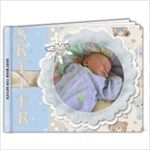 Baby Book For Skyler - 11 x 8.5 Photo Book(20 pages)