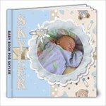 Baby Book For Skyler - 8x8 Photo Book (20 pages)