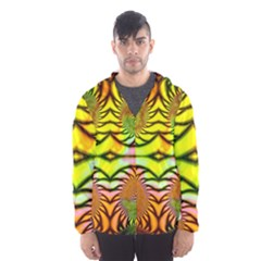 Fractals Ball About Abstract Hooded Wind Breaker (men)