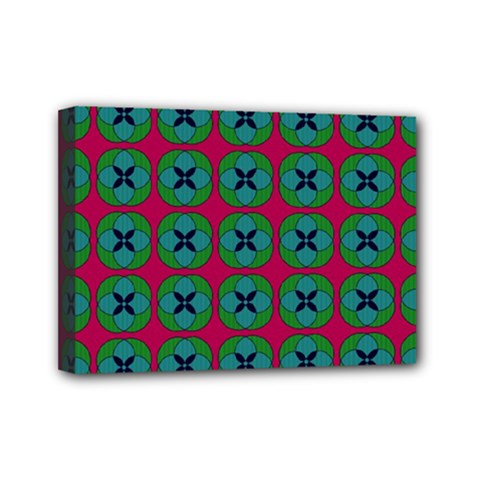 Geometric Patterns Mini Canvas 7  X 5