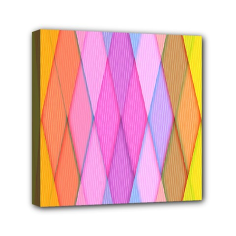 Graphics Colorful Color Wallpaper Mini Canvas 6  X 6