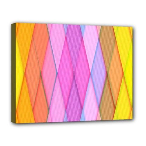 Graphics Colorful Color Wallpaper Canvas 14  X 11  by Nexatart