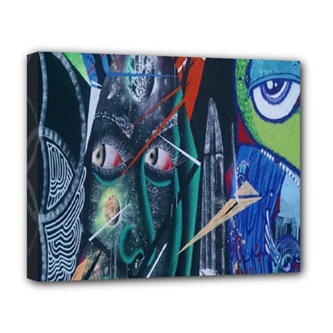Graffiti Art Urban Design Paint Deluxe Canvas 20  X 16