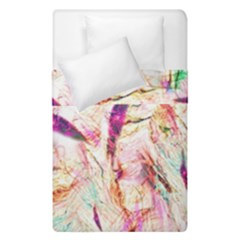 Grass Blades Duvet Cover Double Side (single Size) by Nexatart