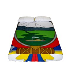 Coat Of Arms Of Ecuador Fitted Sheet (full/ Double Size) by abbeyz71