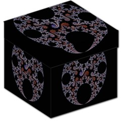 Fractal Complexity Geometric Storage Stool 12