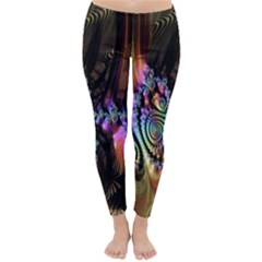 Fractal Colorful Background Classic Winter Leggings