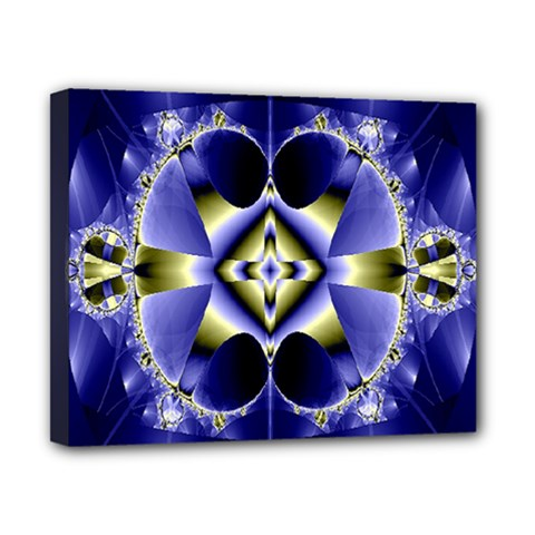 Fractal Fantasy Blue Beauty Canvas 10  X 8