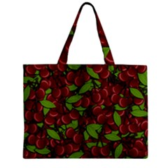Cherry Pattern Mini Tote Bag by Valentinaart
