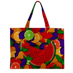 Summer Fruits Mini Tote Bag by Valentinaart