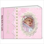 Baby Book For Lydia - 7x5 Photo Book (20 pages)