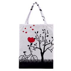 Love Hill Classic Tote Bag by Valentinaart