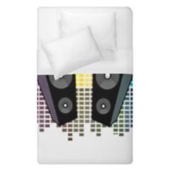 Loudspeakers   Transparent Duvet Cover (single Size) by Valentinaart