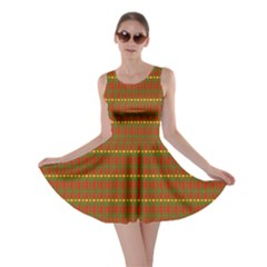 Fugly Christmas Xmas Pattern Skater Dress