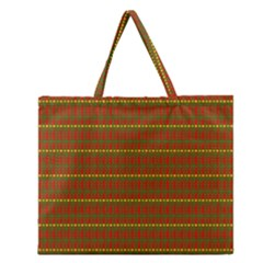 Fugly Christmas Xmas Pattern Zipper Large Tote Bag by Nexatart