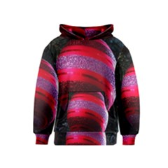 Glass Ball Decorated Beautiful Red Kids  Pullover Hoodie