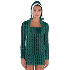 Golf Golfer Background Silhouette Women s Long Sleeve Hooded T Shirt by Nexatart