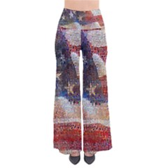 Grunge United State Of Art Flag Pants by Nexatart