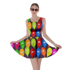 Happy Balloons Skater Dress by Nexatart