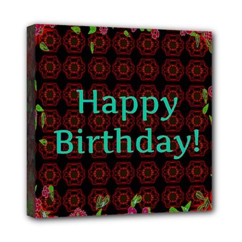 Happy Birthday! Mini Canvas 8  X 8  by Nexatart