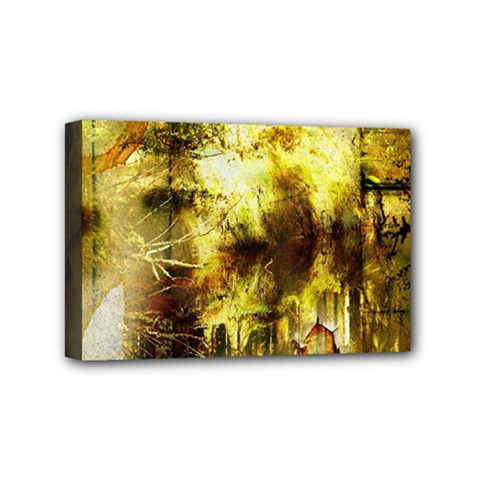 Grunge Texture Retro Design Mini Canvas 6  X 4
